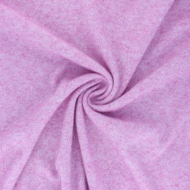 Lurex Knit Jersey fabric - pink Dazzling x 10cm
