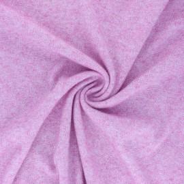 Tissu maille jersey lurex Dazzling - rose x 10cm