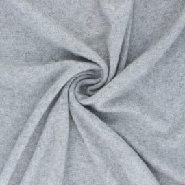 Tissu maille jersey lurex Dazzling - gris x 10cm