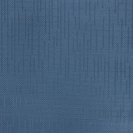 Tissu toile cirée Matex Vision - bleu acier x 10cm