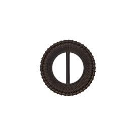 Boucle coulissante ronde Loopa - noir