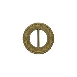 Boucle coulissante ronde Loopa - kaki