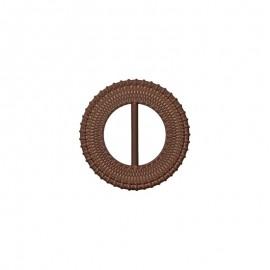 50mm Round Tri-Glide Slide - brown Loopa