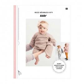 """Livre """"Le petit livre de couture de Rico n°9 - bébé"""""""