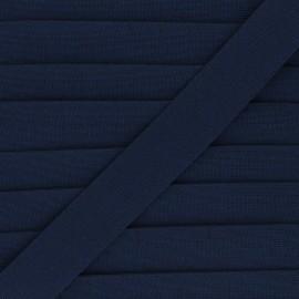 Elastique plat 30mm Goma - bleu marine x 1m