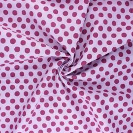 Tissu popeline de coton Kaffe Fassett Spot - parme x 10cm
