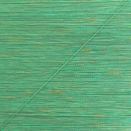 Cordon Lurex 0.5 mm Rumba  - vert/doré x 1m