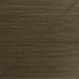 Cordon lurex Rumba 0,5 mm - noir/doré x 1m