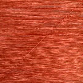 Cordon lurex Rumba 0,5 mm - rouge/doré x 1m