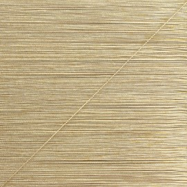 0,5 mm lurex cord - white/gold Rumba x 1m