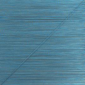 Cordon lurex Rumba 0,5 mm - bleu/doré x 1m