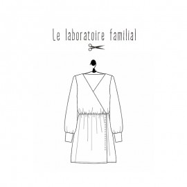 Dress Sewing pattern Le laboratoire familial - Emilia