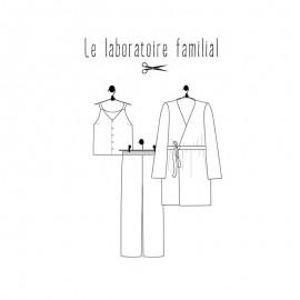 Pyjamas sewing pattern Le laboratoire familial - Césarine