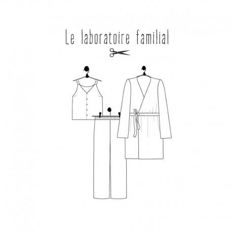 Patron Pyjama Femme Le laboratoire familial - Césarine