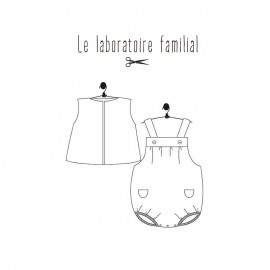 Baby clothing set Sewing pattern Le laboratoire familial - Balthazar