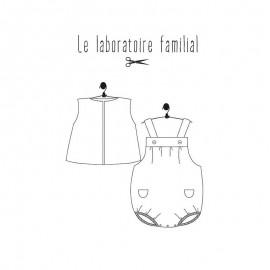 Patron Ensemble Bébé Le laboratoire familial - Balthazar