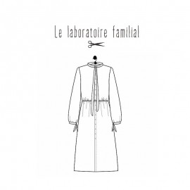 Dress Sewing pattern Le laboratoire familial - Gabrielle