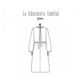 Patron Robe Femme Le laboratoire familial - Gabrielle