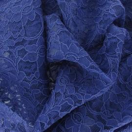 Lace Fabric - Cobalt Blue x 10cm