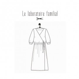 Sewing pattern Le laboratoire familial dress - Charlotte
