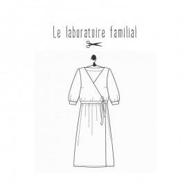 Patron Le laboratoire familial robe - Charlotte