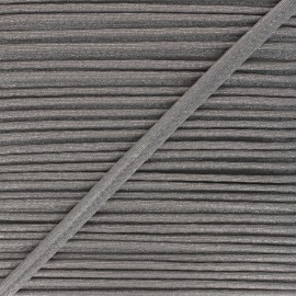 12mm Metallic piping - grey Danse! x 1m
