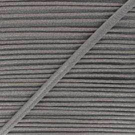 Passepoil métallisé Danse! 12mm - gris x 1m