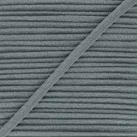 12mm Metallic piping - green grey Danse! x 1m