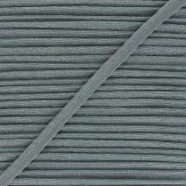 12mm Metallic piping - green grey Danse! x 1m