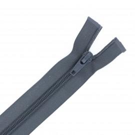 Separable nylon Eclair® zipper 70 cm - anthracite
