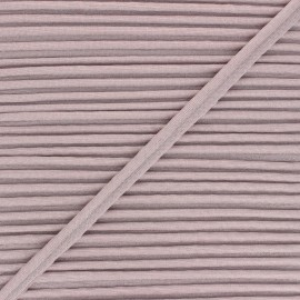 12mm Metallic piping - powder pink Danse! x 1m