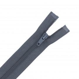 Separable nylon Eclair® zipper 40 cm - anthracite