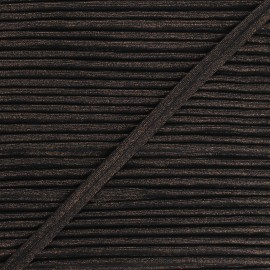 Passepoil métallisé Danse! 12mm - noir x 1m