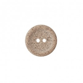 Recycled coffee button - grege Koffee