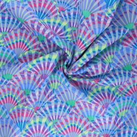 Kaffe Fassett Cotton poplin fabric - grey Paper fans x 10cm