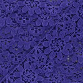 50 mm Guipure Lace - purple Fiore x 1m