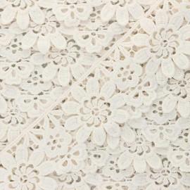 Guipure Fiore 50 mm - crème x 1m