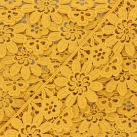 Guipure Fiore 50 mm - miel x 1m
