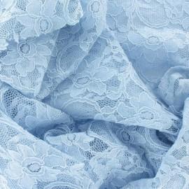 Lace Fabric - Sky x 10cm