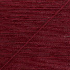 2mm jute cord - burgundy Lota x 1m