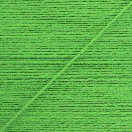 2mm jute cord - green Lota x 1m