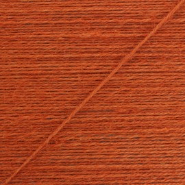 2mm jute cord - orange Lota x 1m