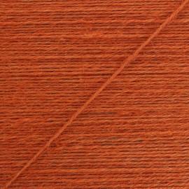 Corde de jute Lota 2 mm - orange x 1m