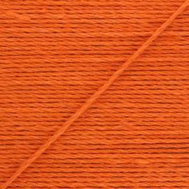 4mm jute cord - orange Lata x 1m