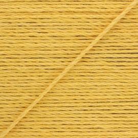 4mm jute cord - yellow Lata x 1m