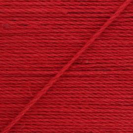 Corde de jute Lata 4 mm - rouge x 1m