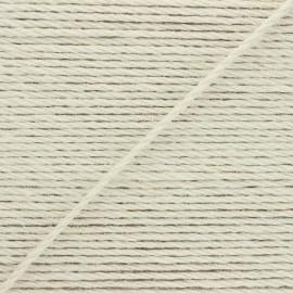 4mm jute cord - raw Lata x 1m