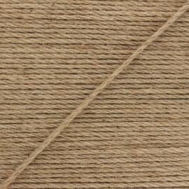 4mm jute cord - natural Lata x 1m