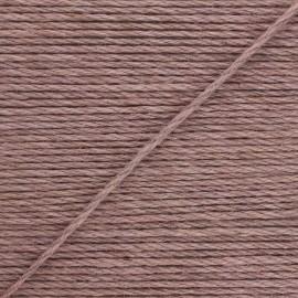 Corde de jute Lata 4 mm - taupe rosé x 1m