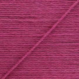 4mm jute cord - raspberry Lata x 1m